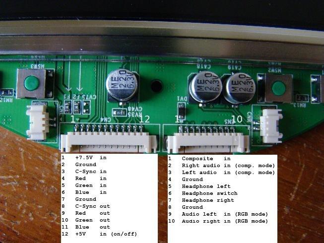 pinouts  full wiring diagram