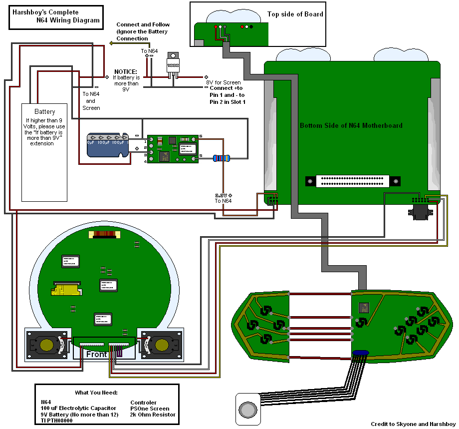 n64 portable wiring diagram get free image about wiring diagram